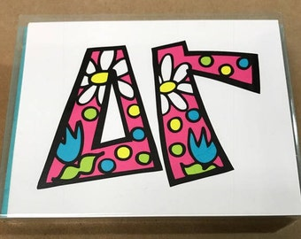 Delta Gamma Notecards