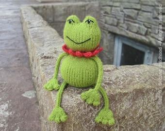 Frog baby shower gift, baby toy baby stuff, green frog, knit amigurumi frog, stuffed animal, froggy baby amigurumi ready
