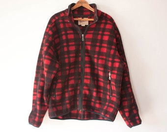 Vintage fleece pullover | Etsy