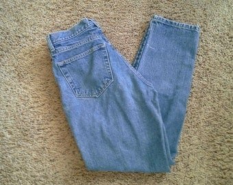 GAP Denim Jeans Sz 8 S / M Classic Ankle Fit Tapered High Mid Rise