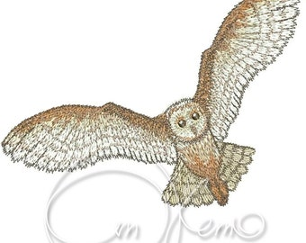 MACHINE EMBROIDERY FILE - Owl