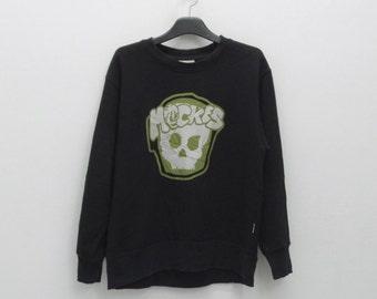 Mack Daddy Crewneck Vintage Mack Daddy Black Sweater Mack Daddy Pullover Mack Daddy Skull Sweatshirt MDY Mens Size M