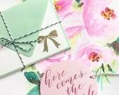 Invitation Envelopes for Karissa- CUSTOM ORDER