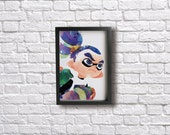INKLING BOY poster - Inslpired by Splatoon!