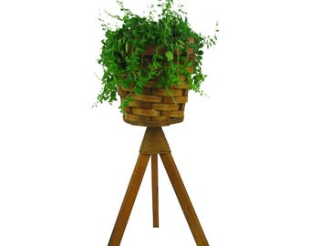 Tripod Plant Stand Etsy