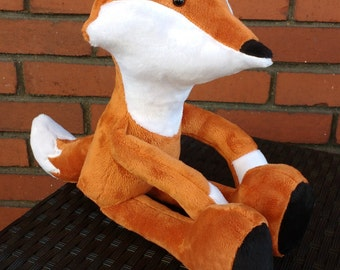 Fox Stuffed Animal, woodland animals, woodland nursery