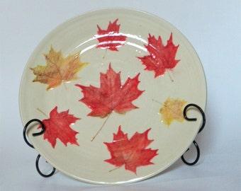 O Canada Maple Leaf Platter