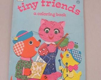 ANIMAL COLORING BOOK, Vintage coloring book, Children's coloring book, homeschool book, cute animal coloring book, pets coloring book