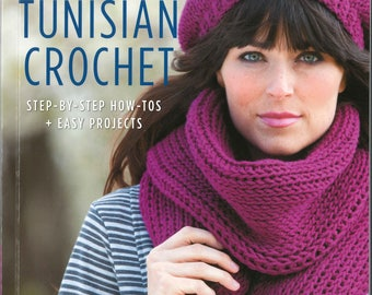 Crochet Learn Tunisian Crochet by Kim Guzman New Book