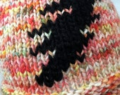Grateful Dead Hat Knit Hat Hand Knit Hat Knit Beanie Grateful Dead Beanie Hand Dyed Yarn Steal Your Face Hat Jerry Garcia Phil Lesh Bob Weir