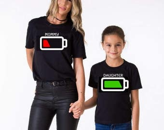 Mommy/Daughter Matching Shirts