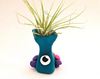 Tall Green Monster with Mushrooms - Airplant