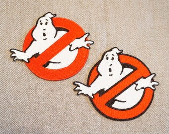 Ghostbusters Patch - Movie No Ghost Fully Embroidered Costume Patch / Badge / Emblem / Applique Iron on or Sew on