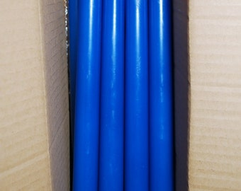 8 Taper candles - scented taper candles - dinner candles - round dinner tapers - dinner taper candles - homemade candles - handmade - 10''