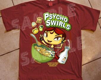 Psycho Swirls Tee - Psychonauts Inspired