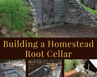 Building a Homestead Root Cellar eBook