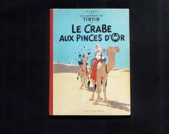 Tintin.herge. the crab with the claws of gold. 1964
