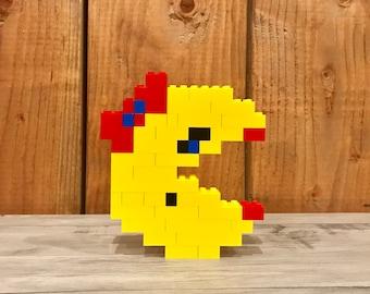 Ms Pacman - Lego Sculpture
