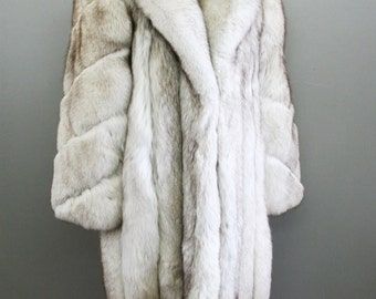 This item has SOLD to  Elle Sept PMT 2  of 3 The Glamorous Life - Silver Fox fur Coat - Jacket - by Glantz Furs of Brooklyn