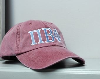Sorority Embroidered Hat