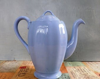 A Grindley 'Petalware' Coffee Pot Vintage 1950's coffee pot utilityware Kitchenalia