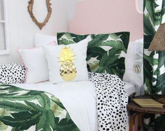 Solid Pastel Blush Pink Custom Twin Dorm Headboard