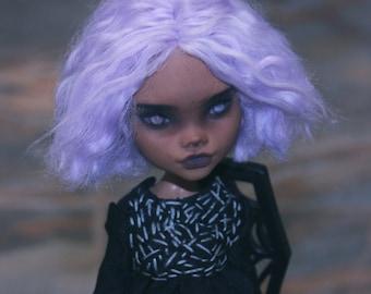Monster High Clawdeen Wolf OOAK Custom Doll Repaint