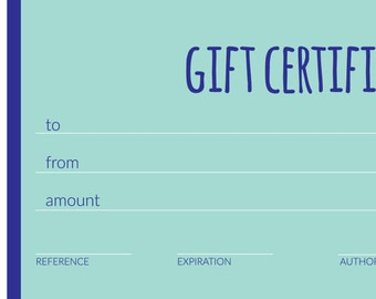 Wishing Star Pottery Gift Certificate. Give the gift of handmade. Redeemable in my Etsy Shop or in person! Wedding Gift, Birthday Gift