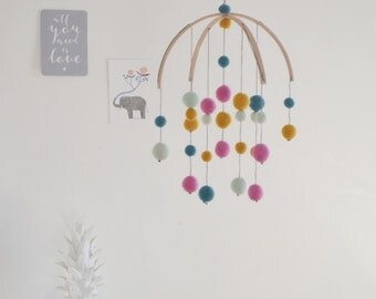 Baby Mobile decoration baby changing table