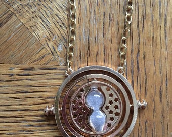 Gold Time Turner Harry Potter Hermione