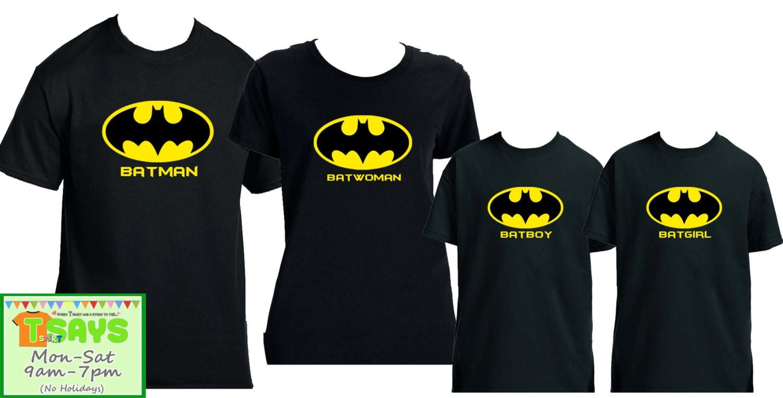 Batman Family Shirts batman logo batman batman family