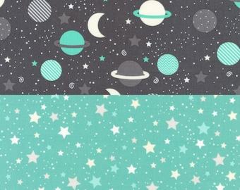 Space Explorers - 2 Fabric Bundle