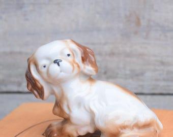 Pekingese Figurine, Dog Figurine, Small Dog, Toy Dog, Pekingese Decor, Japanese Dog, Dog Decor, Dog Figure, Ceramic Dog, Pekignese