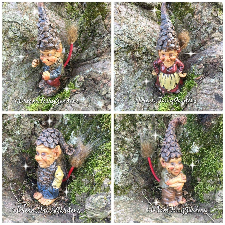 Miniature trolls fairy garden troll miniature gargoyle for Garden trolls