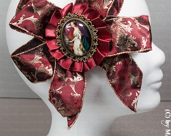 Opulent brooch for the Steampunk Lady