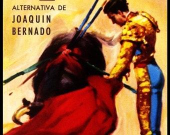 "Bullfighting - Plaza De Toros De Castellon #1 Canvas Art Poster 12""x 24"""