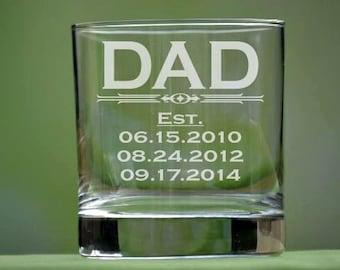 Personalized Whiskey Glass, Rocks Glass, Whiskey Glass, Double Old Fashioned, Whiskey Glasses, Whiskey Glass Personalized, Fathers Day Gift