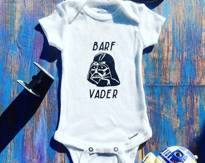 Barf Vader Onesie