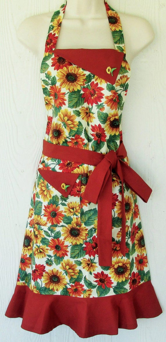 Plus Size Aprons - KitschNStyle