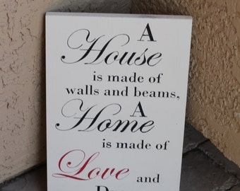 Home is Made of Love and Dreams