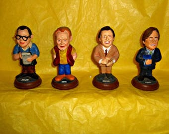 Coronation Street Swatkins Collection Figures Soap Memorabilia Figurine Figure Official The Street Merchandise Four Characters Hand Painted