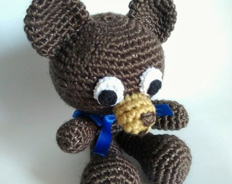 Soft amigurumi bear - READY TO SHIP -