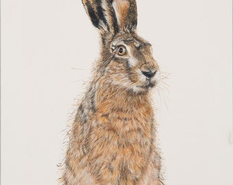 Bad Hare day large giclee print