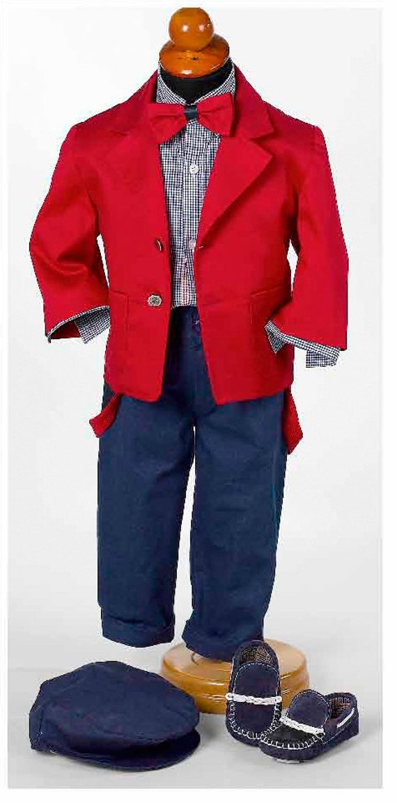 Couture boy outfit Toddler boy outfit set Wedding baby clothes