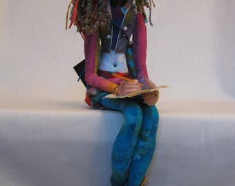 The Artist OOAK needle felted figure