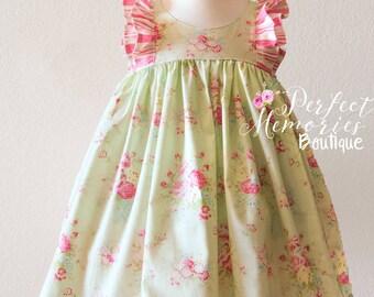Girls Spring Dress | Easter Dress | Baby Spring Dress | Baby Easter Dress | Girls Easter Dress | Ruffle Dress | Flower Girl Dress | Easter