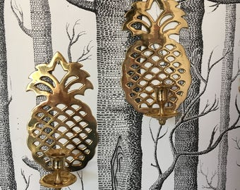 Pineapple Sconce Etsy