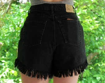 Mom Shorts ANY SIZE High Waisted Shorts for Spring Custom Cutoffs Shorts Pick Your Wash