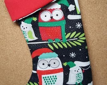 Little Owl Mini Stocking