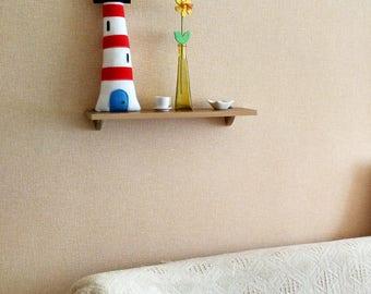 Lighthouse Decor - Plush Toy-Lighthouse Pillow